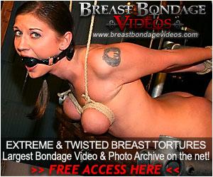 U tube breast binding