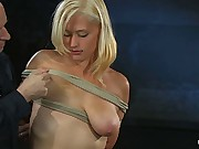 Amateur Casting Couch: Lacey Jane is one tough bitch!