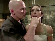Lyla Storm Cums and Squirts just from Sucking Cock - Dominated by Mark Davis!