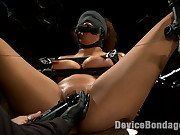 Samoan beauty with huge natural tits is tormented plus fucked!!!